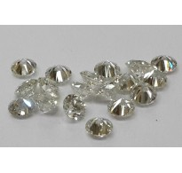 1.2-1.9mm 1cts Quantity SI Clarity H Color Natural Loose Brilliant Cut Diamonds Round