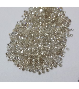 2.0-2.4mm 1cts Qty I1 Clarity I-J Color Natural Loose Brilliant Cut Diamond Round for Setting