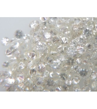 10pc 2.1mm Size SI Clarity H Color Natural Loose Brilliant Cut Round Real Diamond
