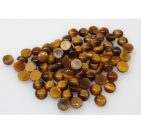 Natural Loose Tiger Eye Gemstone 3mm Cabochon for Setting